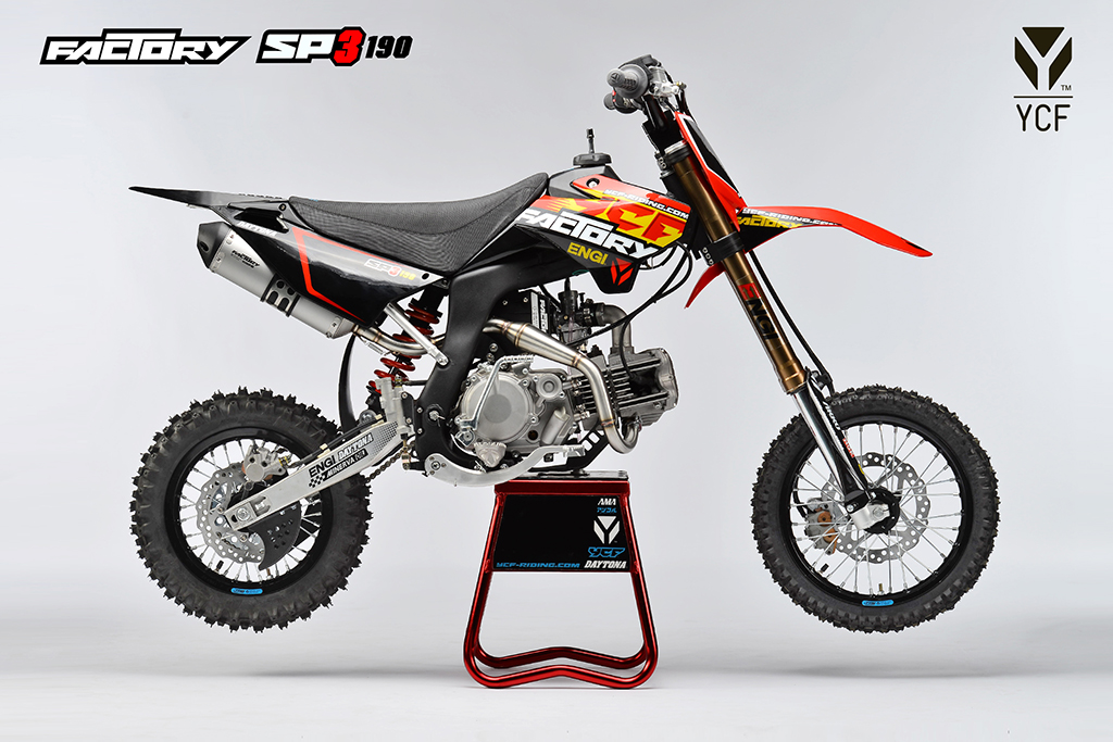 ycf factory sp3 f190 daytona dirt bike proracer west. Black Bedroom Furniture Sets. Home Design Ideas
