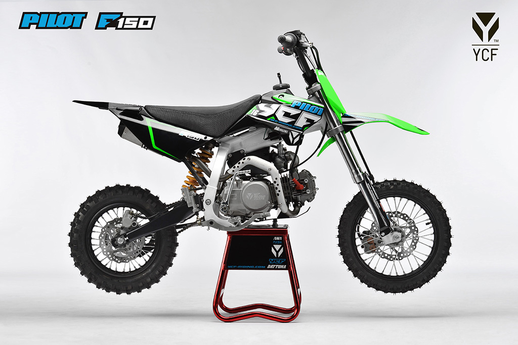 ycf pilot f150 dirt bike proracer west gosford. Black Bedroom Furniture Sets. Home Design Ideas
