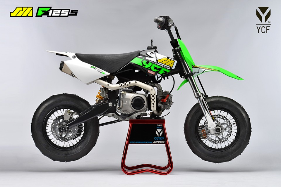 ycf supermoto f125s dirt bike proracer west gosford. Black Bedroom Furniture Sets. Home Design Ideas