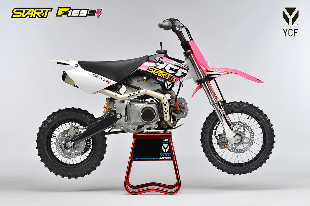 ycf start f125s dirt bike proracer west gosford. Black Bedroom Furniture Sets. Home Design Ideas