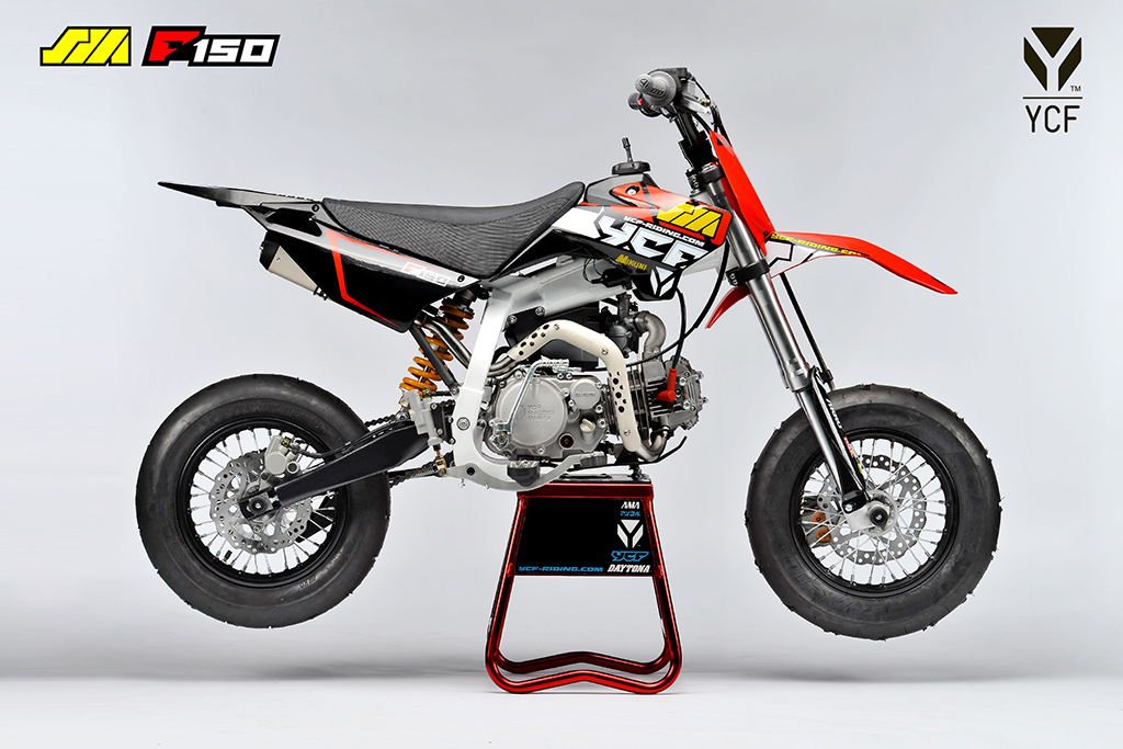 ycf supermoto f150 dirt bike proracer west gosford. Black Bedroom Furniture Sets. Home Design Ideas