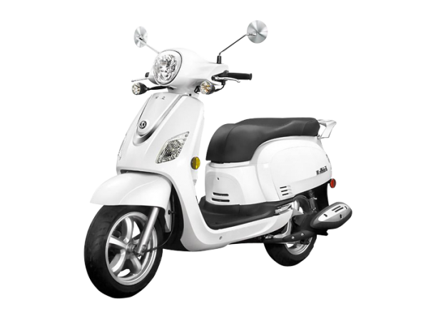 Sym Classic 200i Motor Scooter Is Neat And Very Sleek,with